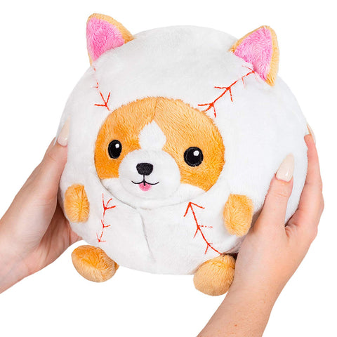 "Squishable Undercover Corgi in Baseball - 7"" Plush"
