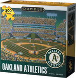 Dowdle Folk Art Jigsaw Puzzle - Oakland Athletics 500 Pieces