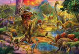 Educa 1000 Piece Puzzle, Land of The Dinosaurs