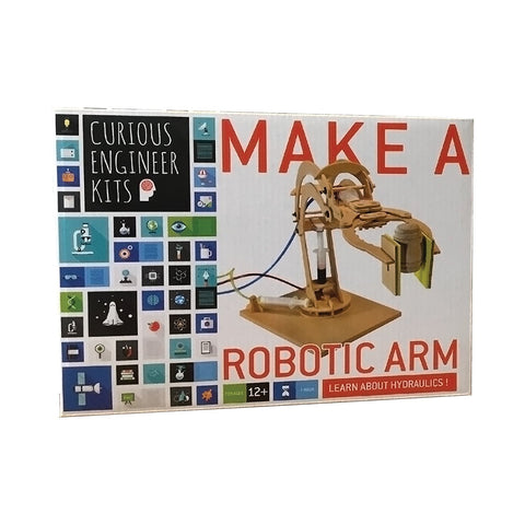 Copernicus Toys Wooden Make a Robotic Arm Kit