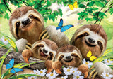 Educa- Selfies Series Puzzle 500 Pieces Family of Sloths (18450)