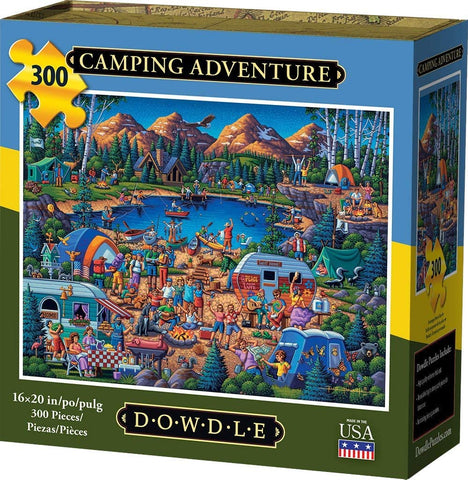 Dowdle Jigsaw Puzzle - Camping Adventure - 300 Piece