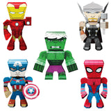 Fascinations Metal Earth Marvel Legends 3D Metal Model Kits Set of 5 Iron Man - Spider-Man - Captain America - Thor - Hulk