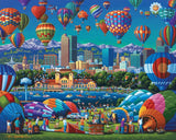 Dowdle Jigsaw Puzzle - 500 Pieces - Above Denver