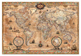 Educa - Antique World Map - 1000 Piece Jigsaw Puzzle