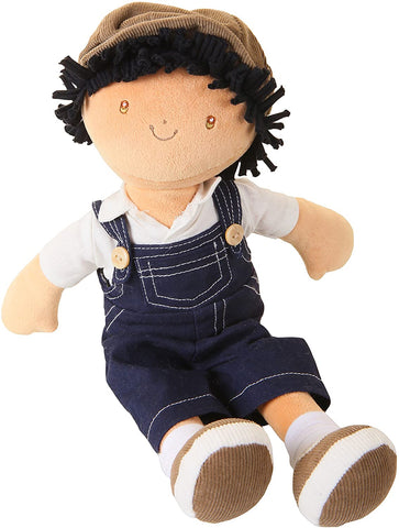 "Tikiri Bonikka 14"" Plush Rag Doll - Joe"
