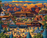 Grand Canyon 500 Piece Puzzle by Dowdle Folk Art