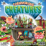 Toys By Nature Carnivorous Creatures Kids Terrarium Greenhouse Kit - Grow Your Own Plants That EAT Bugs