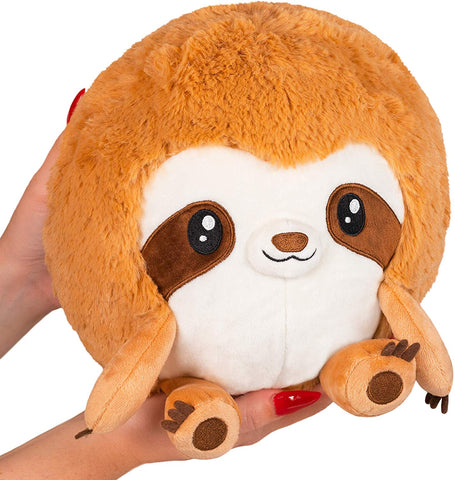 "Squishable / Mini Snuggly Sloth 7"" Plush"