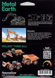 Fascinations Metal Earth Excavator 3D Metal Model Kit