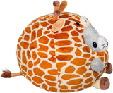 Squishable / Undercover Kitty in Giraffe Plush