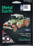 Fascinations Metal Earth 1931 Ford Model A 3D Metal Model Kit