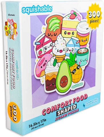 Squishable Comfort Food Shaped Jigsaw Puzzle - 300 Pieces