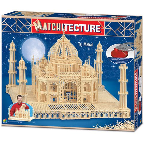 Bojeux Matchitecture Wood Microbeam Construction Set - Taj Mahal