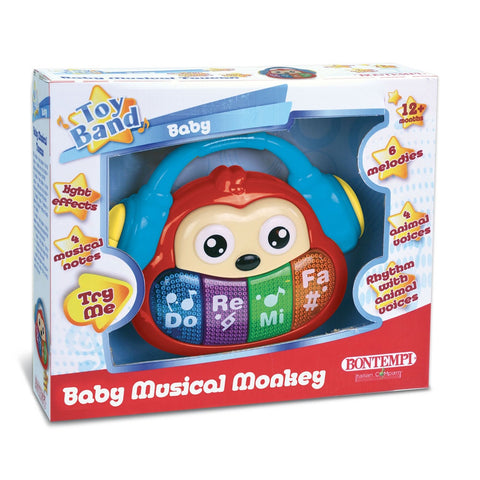 Bontempi Baby Musical Jungle Monkey Light and Music Toy