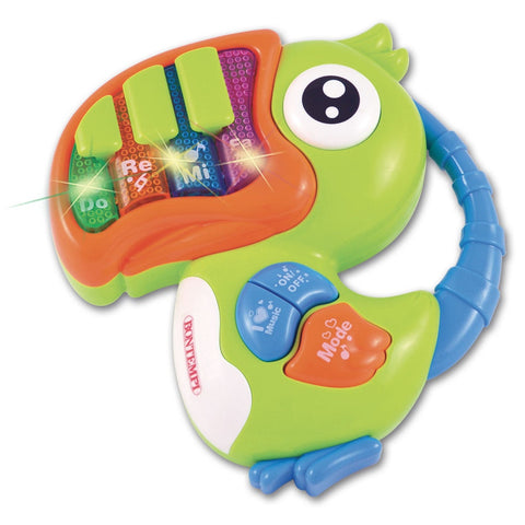 Bontempi Baby Musical Jungle Bird Toucan Light and Music Toy
