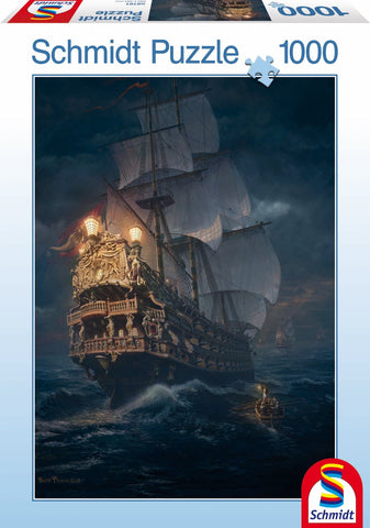 Lion Rampant Schmidt Puzzle - On the High Seas - 1000 Piece Puzzle
