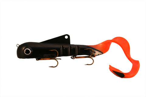 Shallow Magnum Bull Dawg Black/Orange