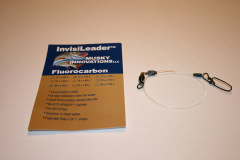 Invisi fluorocarbon Leaders