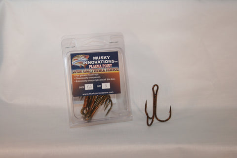 Plasma Point Hooks - 5 Pack