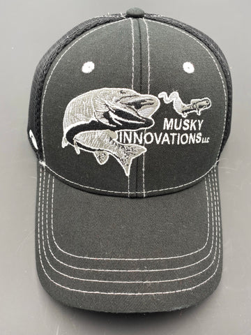 Black Hat with Black/White Logo