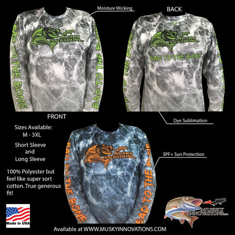Musky Innovations Bad to the Bone Performance Shirt