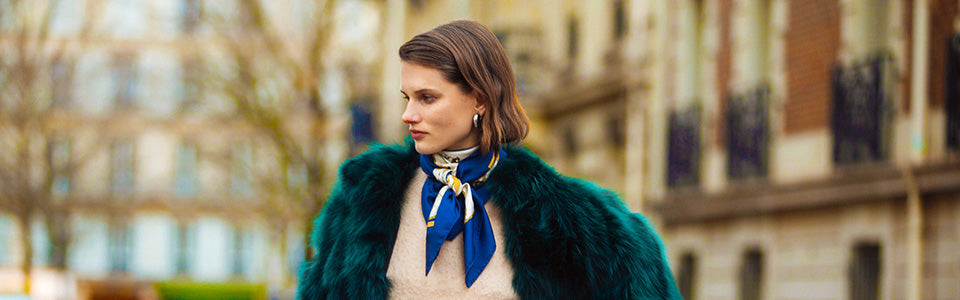 Four Ways To Incorporate A Silk Scarf Into Your Look