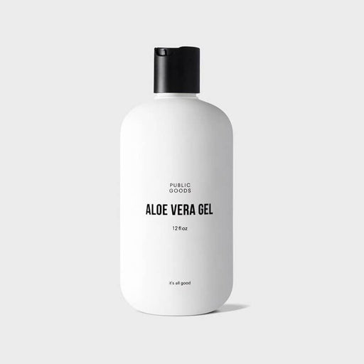 Aloe Vera Gel by Public Goods | MILK MONEY milkmoney.co | natural skin care products. organic skin care. clean beauty products. organic skin care products. natural skincare. vegan skincare. organic skincare. organic beauty products. vegan cruelty free skincare. vegan skincare products.