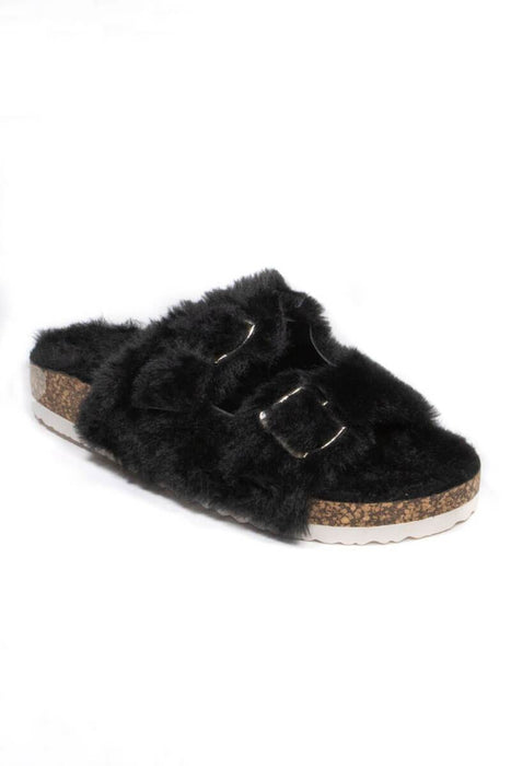 Arizona Shearling Birk Sandals black MILK MONEY