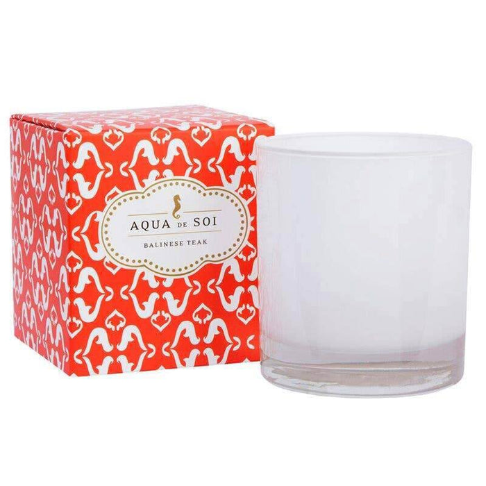 Balinese Teak Soy Candle red MILK MONEY