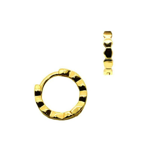 Bauble Huggie Hoop Earring gold MILK MONEY