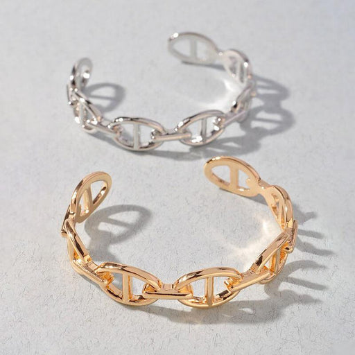 Bit Cuff Bracelet gold silver group MILK MONEY
