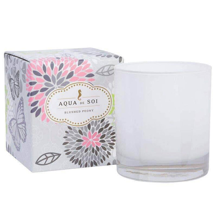 Blushed Peony Soy Wax Candle pink MILK MONEY