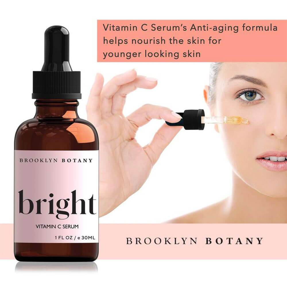 Bright Triple C Vitamin C Serum by Brooklyn Botany info MILK MONEY