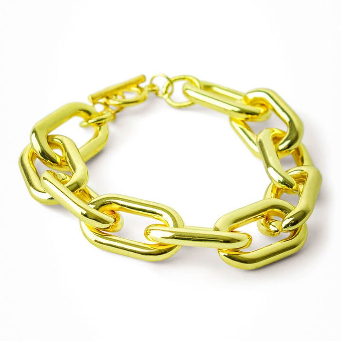 Brooke Gold Chain Link Bracelet - MILK MONEY