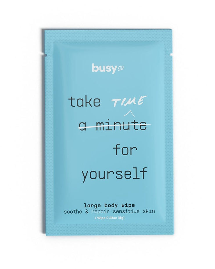 Busy Beauty Refresh XL Calm Body Wipes