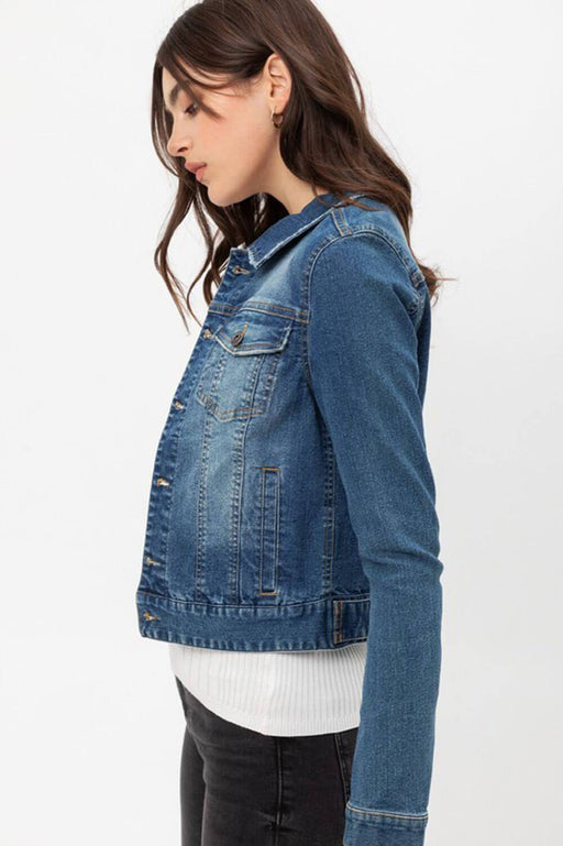 Classic Denim Jacket blue side MILK MONEY