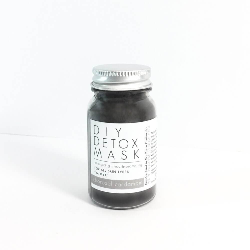 DIY Detox Charcoal Mask by Honey Belle - MILK MONEY