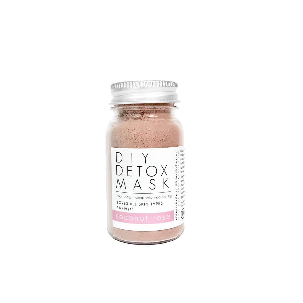 DIY Detox Coconut Rose Mask by Honey Belle - MILK MONEY