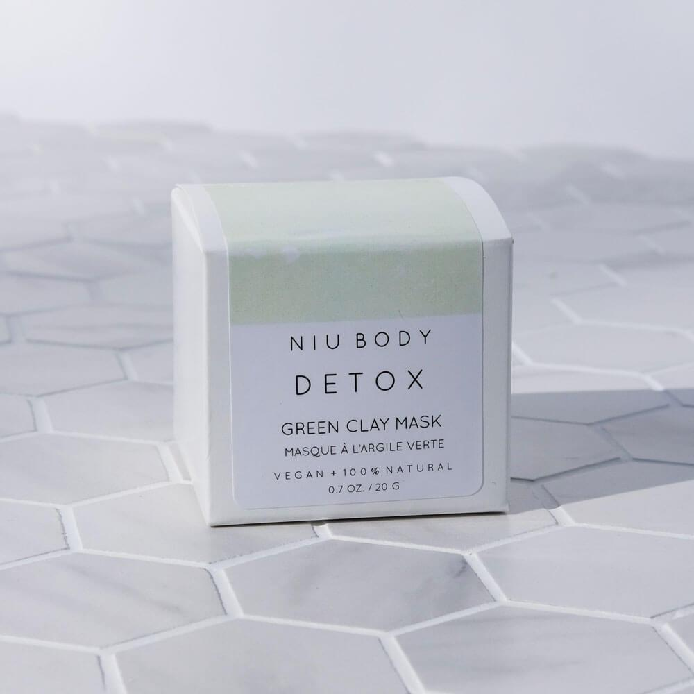 Detox Green Clay Mask by NIU Body box - MILK MONEY