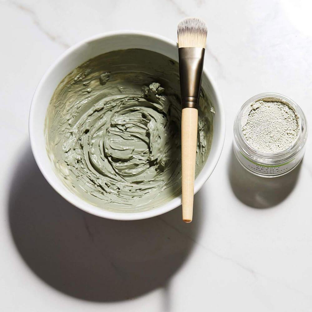 Detox Green Clay Mask by NIU Body mixed - MILK MONEY