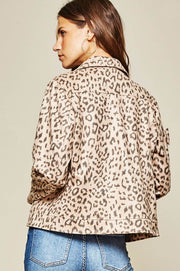 Don't F With Me Leopard Moto tan back MILK MONEY