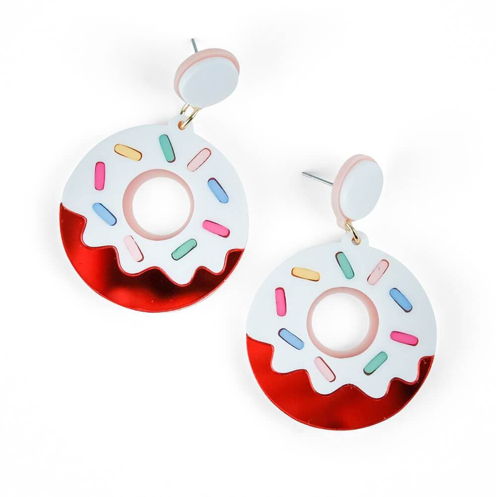 Donut Hole Earrings fun - MILK MONEY