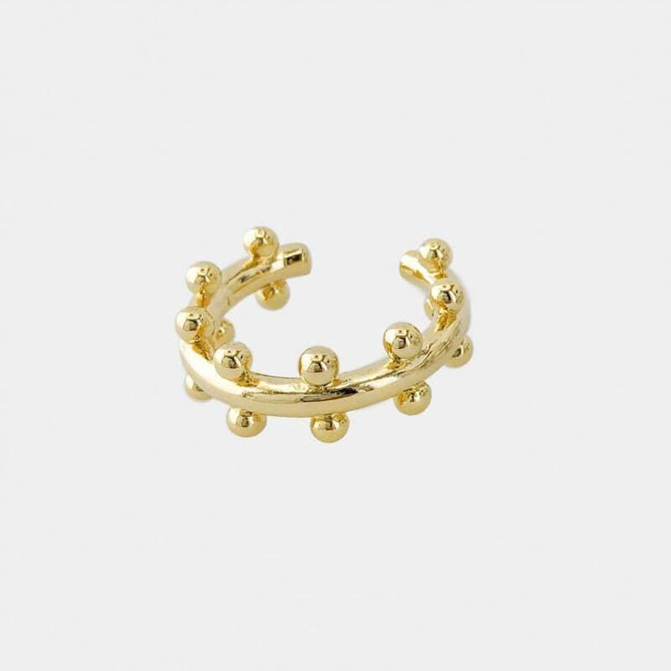 Dotted Ring gold MILK MONEY