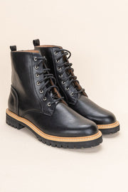 Drew Contemporary Military Boot black double side MILK MONEY