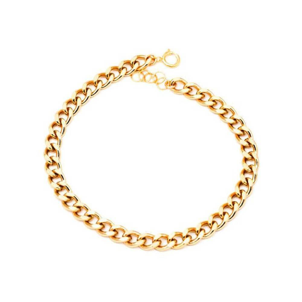 The Elliot Mini Chain Bracelet gold MILK MONEY