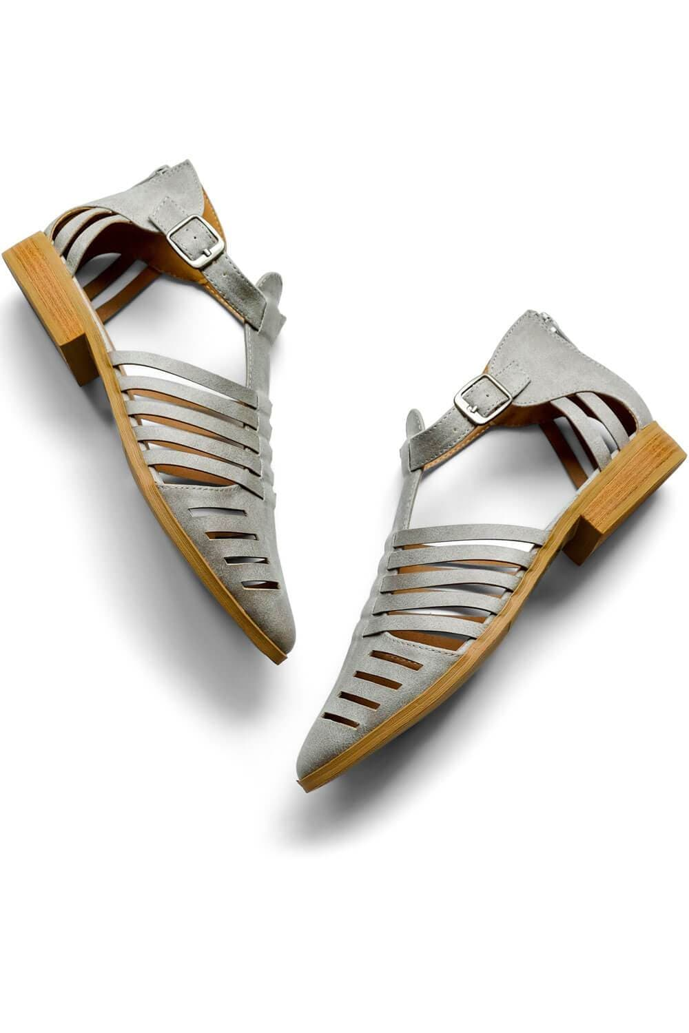 Eve Sandal Grey - MILK MONEY