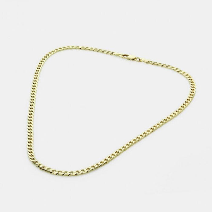 Everyday Cuban Curb Chain Link Necklace gold MILK MONEY