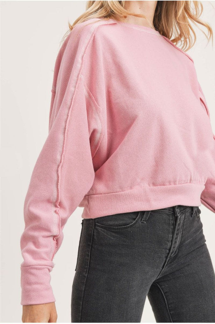 Flash Dancin' Pullover pink detail MILK MONEY