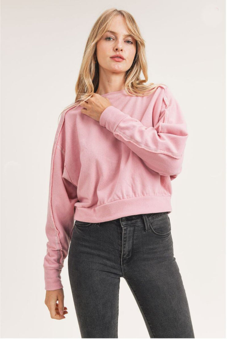 Flash Dancin' Pullover pink MILK MONEY